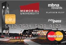 Memorial University MBNA Rewards MasterCard奖励-加拿大信用卡