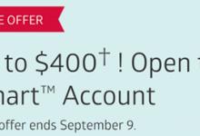 CIBC智能账户新账户将获得高达400美元的奖金-加拿大信用卡