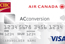 关于加拿大帝国商业银行加拿大航空公司AConversion签证预付卡——Pointshogger-加拿大信用卡