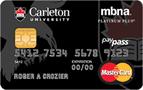 卡尔顿大学MBNA万事达卡®-加拿大信用卡