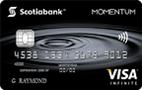 Scotia Momentum®签证*无限卡-加拿大信用卡