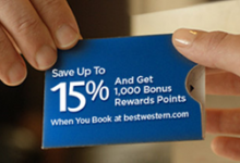 Best Western Rewards:今秋世界各地住宿提供1000 奖金积分和高达15%的折扣-加拿大信用卡