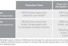 Aeroplan将增加改签或退奖票费用-加拿大信用卡