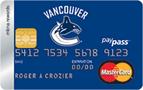 Vancouver Canucks® MBNA奖励万事达卡-加拿大信用卡