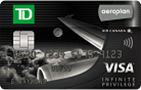 TD®Aeroplan®签证无限特权卡-加拿大信用卡